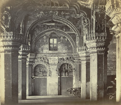 Tanjore Palace. Another view of the disused Council Chamber.